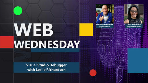 Using the debugger in Visual Studio with Leslie Richardson