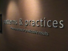 Tour: Patterns and Practices Lab