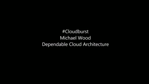 Dependable Cloud Architecture