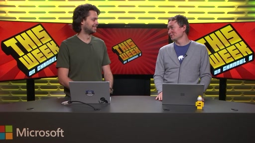 TWC9: New Surface Pro, Worlds Largest Git Repo, P Language, Exiting Vim and more...