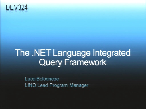 VS2008 Training Kit: .NET Language Integrated Query (LINQ)