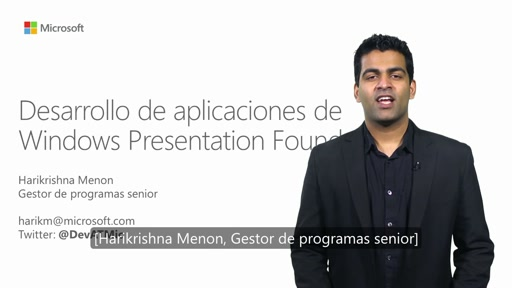 Desarrollo de aplicaciones de Windows Presentation Foundation (WPF)
