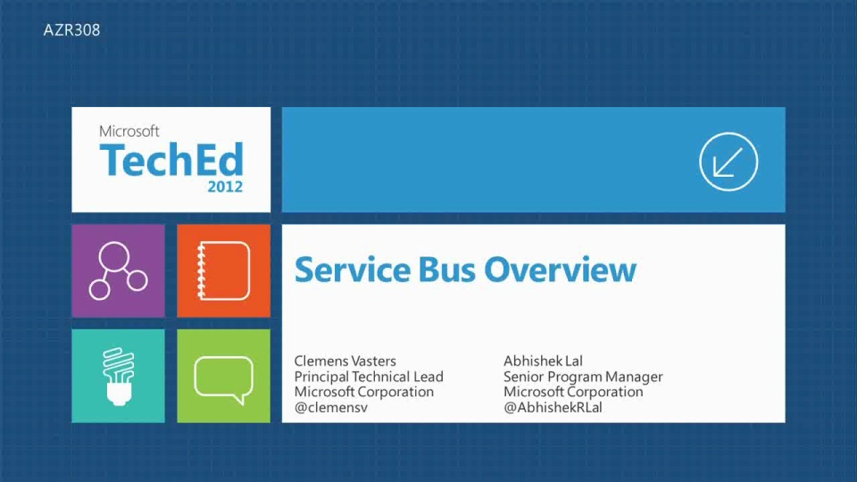 Overview and Roadmap of Windows Azure Service Bus