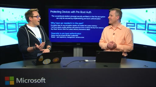 Edge Show 102 - BitLocker: Preauth, PINS, UEFI and protections