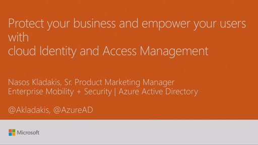Protect your business and empower your users with cloud Identity and Access Management