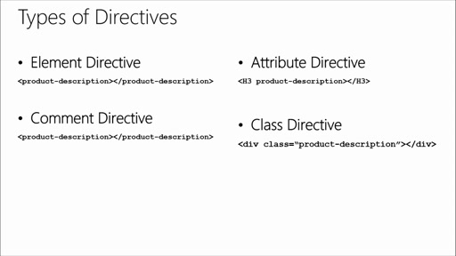 Introduction to AngularJS: (04) Directives