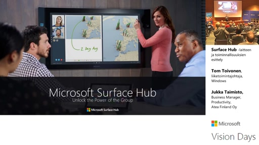 Microsoft Vision Day 2016 - Surface Hub