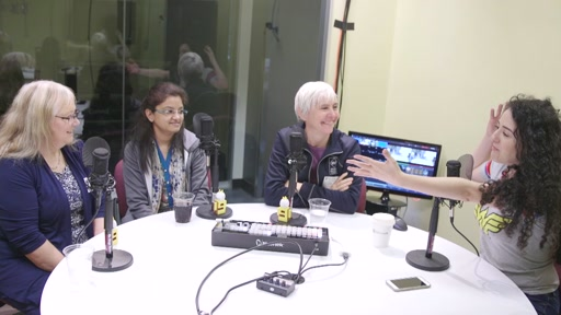 Interview with Penelope Coventry, Roohi Shaikh and Kerstin Rachfahl during the #MVPSummit