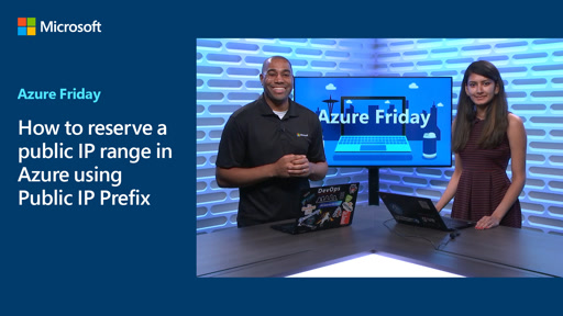 How to reserve a public IP range in Azure using Public IP Prefix