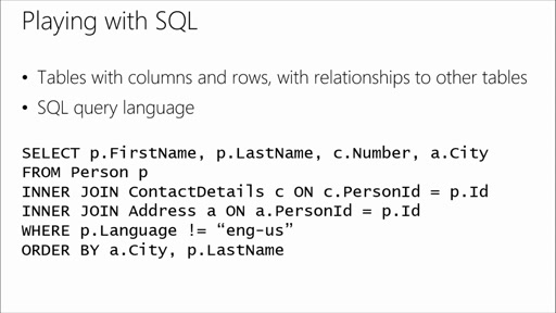 Polyglot Persistence: Choosing the Right Azure Storage Mix: (02) Relational Databases