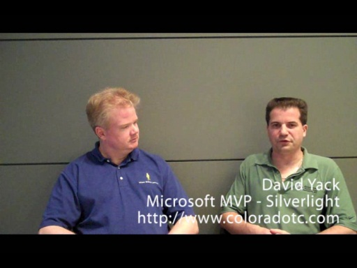 Talking with Silverlight MVP David Yack about training, CRM 2011 and Windows Phone 7