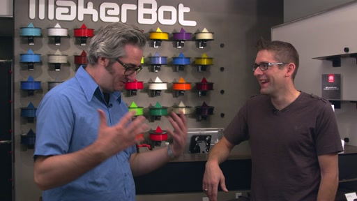 CEO Bre Pettis on MakerBot History, Windows 8.1 Integration