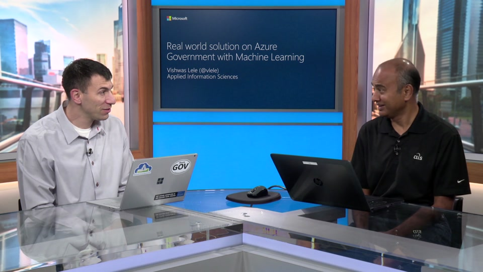 Real World Solutions on Azure Government with Machine Learning