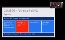 "Katapult.11 – Cloud OS – Technical Insights - ""Wie baue ich meine Private Cloud?"""