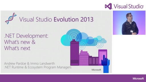 Keynote 2 - What's new in .NET development?