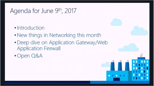 Microsoft Networking Academy 6/9/2017