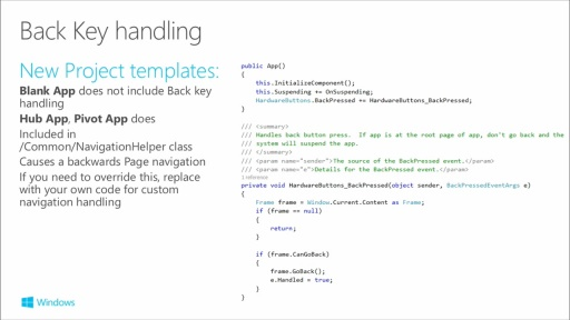 Building Apps for Windows Phone 8.1: (03) Page Navigation and Data Binding in Windows Runtime Apps