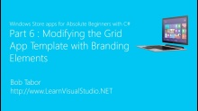 Part 6: Modifying the Grid App Template with Branding Elements