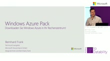 Windows Azure Pack: Downloaden Sie Windows Azure in Ihr Rechenzentrum