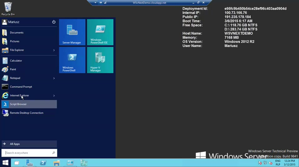 03 | Windows Server Technical Preview