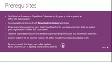 Install the OneNote Class Notebook Creator for IT Administrators