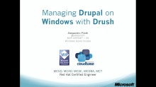 10. Managing Drupal on Windows with Drush