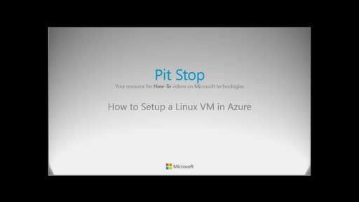 How to setup a Linux VM in Azure