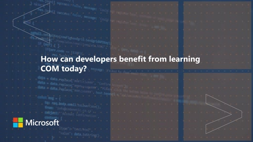 How can developers benefit from learning COM today? | One Dev Question