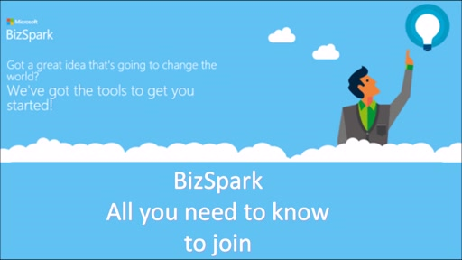 How to register for BizSpark?