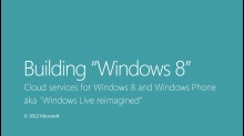 Cloud services for Windows 8 and Windows Phone