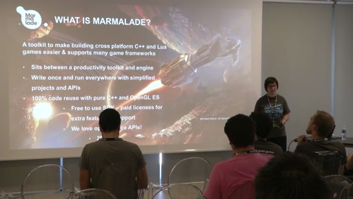 Cross-Platform Game Dev Made Easy with the Marmalade SDK | Track: Dev & Engines