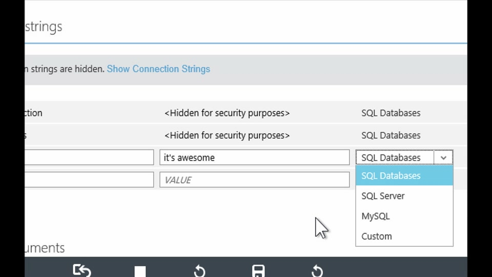 Custom configuration and application settings in Azure Web Sites - with Stefan Schackow