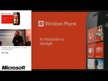 Dev03 - Building Windows Phone 7.5 Apps with Silverlight