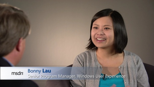 Bonny Lau: Windows 8 User Experience
