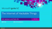 The Internet of Hackable Things