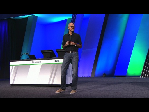 Satya Nadella Showcased Developer Opportunity with Continuous Services