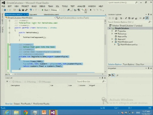 Windows 8 for WPF and Silverlight Developers - Part 2