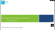 Modul 3 - Brokered Windows Runtime Components für sideloaded Windows Apps im Unternehmen