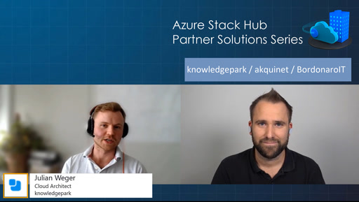Azure Stack Hub Partner Solutions Series – Knowledge Park