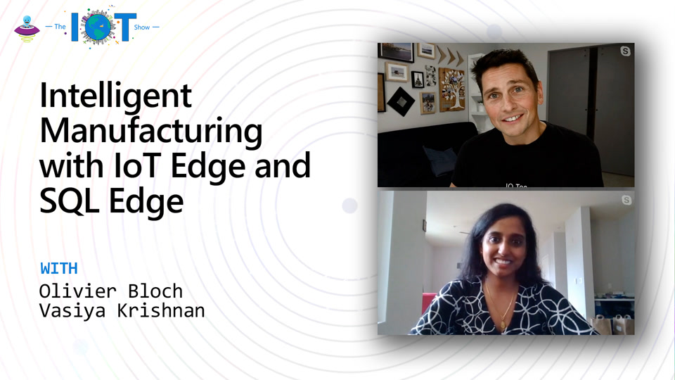 Intelligent Manufacturing with IoT Edge and SQL Edge