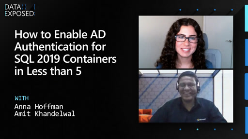 How to Enable AD Authentication for SQL 2019 Containers in Less than 5 Minutes