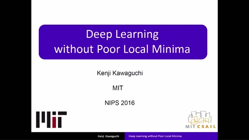 Deep Learning without Poor Local Minima