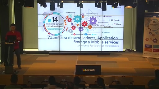 Azure para desarrolladores, Application, Storage y Mobile Services