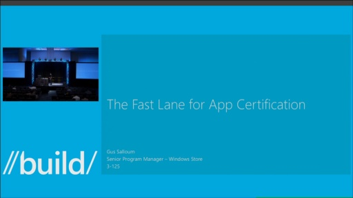 The Fast Lane for App Certification