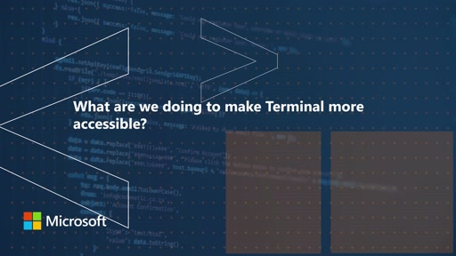 What are we doing to make Terminal more accessible | One Dev Question