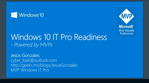Windows 10 IT Pro Readiness [LATAM]