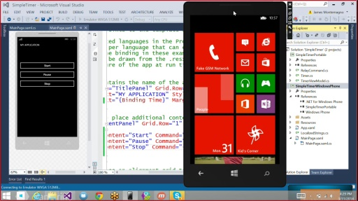 Microsoft DevRadio: Developing for Windows 8 in 1/2 the Time – 60min Challenge! Building Cross Platform Apps with Xamarin