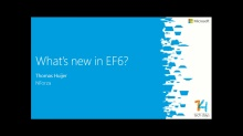 What's new in Entity Framework 6?