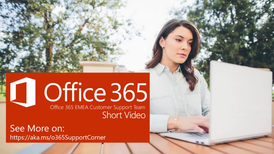 Short Video: How to open an Office 365 (Modern) Support