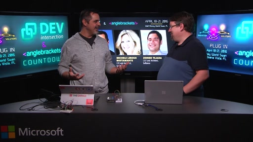 DevIntersection Spring 2016 CountDown Show #3 with Doug Seven